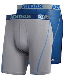 adidas Men's 2-Pk. Sport Performance ClimaCool® Boxer Briefs