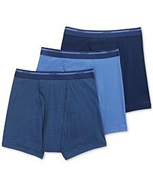 Men's Classic 3 Pack Cotton Boxer Briefs
