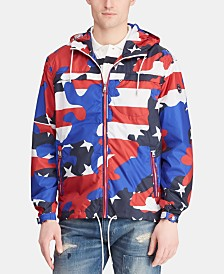 Polo Ralph Lauren Men's Packable Americana Camo Jacket, Created for Macy's