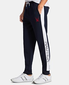 Nautica Men's Blue Sail Logo Graphic Joggers, Created for Macy's
