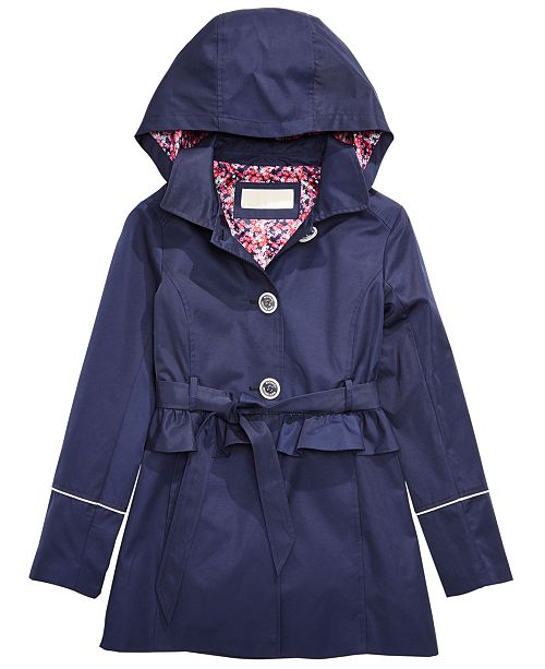Michael Kors Toddler Girls Belted Trench Coat