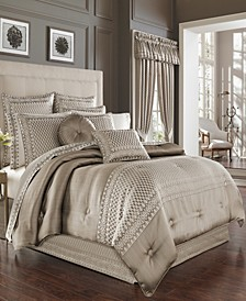 Five Queen Court Beaumont King Comforter Set