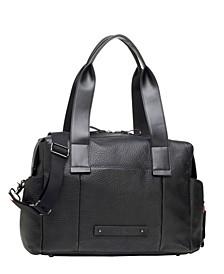 Kym Leather Diaper Bag