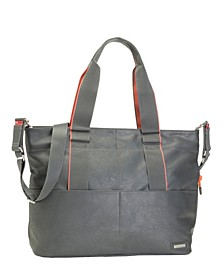 Eden Faux Leather Diaper Bag