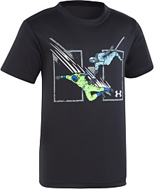 Under Armour Little Boys Slide Home Graphic T-Shirt