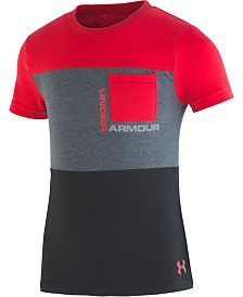 Under Armour Little Boys Pieced Pocket T-Shirt
