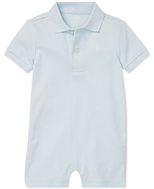 Baby Boys Cotton Interlock Polo Shortall