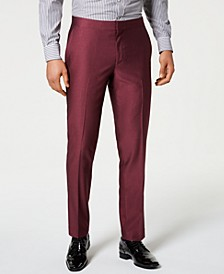 Men's Slim-Fit Stretch Tuxedo Suit Pants, Created for Macy's