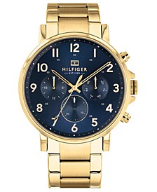 Men's Gold-Tone Bracelet Watch 44mm Created for Macy's