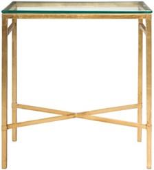 Viggo Antique Side Table, Quick Ship