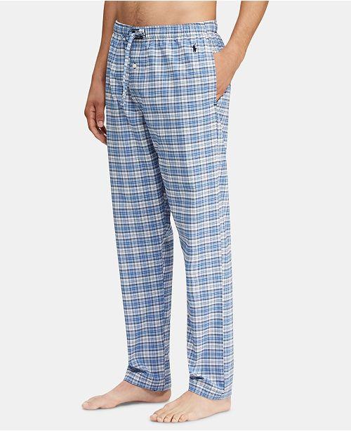 Ralph Pantsamp; Reviews Men's Pajamas Lauren Polo Pajama Plaid cJuFTl15K3