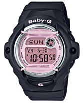 adf12cb7a093 Baby-G Women s Digital Black Resin Strap Watch 42.6mm