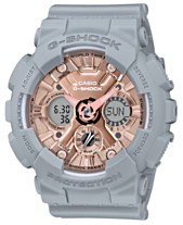 505f8ec95a02 Baby-G Women's Analog-Digital Gray Resin Strap Watch 45.9mm
