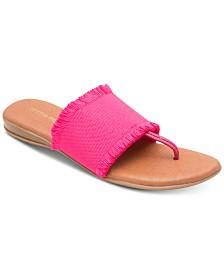 Andre Assous Nanette Flat Sandals