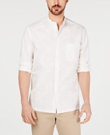 Tasso Elba Men's Torleno Linen Shirt, Created for Macy's