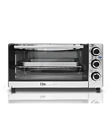 Elite Platinum Stainless Steel 6 Slice Convection Toaster Oven Broiler