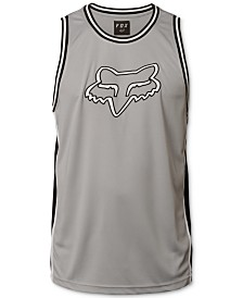 Fox Men's Basketball Logo-Appliqué Mesh Tank