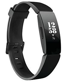 Fitbit Inspire HR Black Strap Activity Tracker 16.4mm