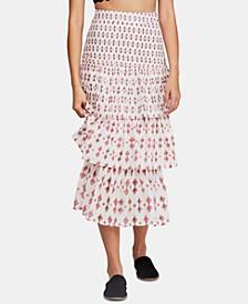 Cha Cha Tiered Midi Skirt