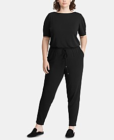 d5a0c0c2bd0 Lauren Ralph Lauren Plus Size Twill Jumpsuit   Reviews - Pants ...