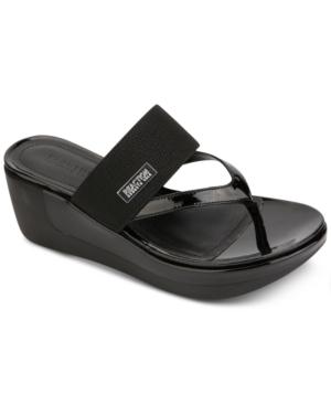 Women's Pepea Cross Thong Wedge Sandals Women's Shoes