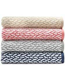 Sanders  Antimicrobial Basket Weave Bath Towel Collection