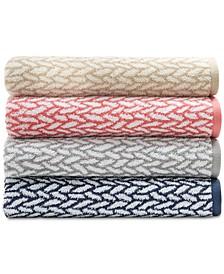 Sanders  Antimicrobial Basket Weave Bath Towel Collection