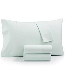Whim By Martha Stewart Collection Cotton Blend 3-Pc. Twin XL Sheet Set, Created for Macy's