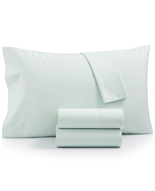Martha Stewart Collection CLOSEOUT! Cotton Blend 3-Pc. Twin XL Sheet Set, Created for Macy's