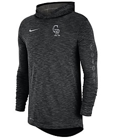 Nike Men's Colorado Rockies Dry Slub Hooded T-Shirt