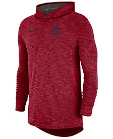 Nike Men's St. Louis Cardinals Dry Slub Hooded T-Shirt