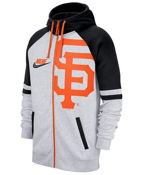 Nike Men's San Francisco Giants Walkoff Full-Zip Hoodie