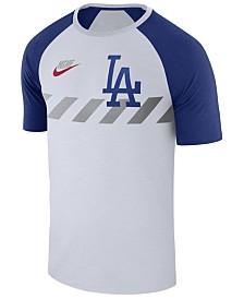 Nike Men's Los Angeles Dodgers Walkoff Raglan T-Shirt