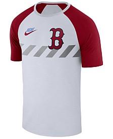 Nike Men's Boston Red Sox Walkoff Raglan T-Shirt
