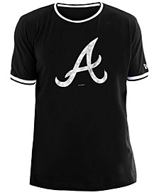 Men's Atlanta Braves Ringer Crew Top