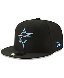 New Era Boys' Miami Marlins Batting Practice 59FIFTY Cap
