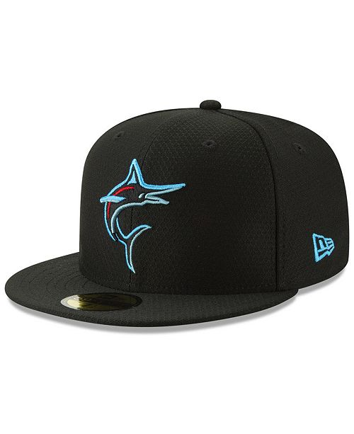 New Era Boys' Miami Marlins Batting Practice 59FIFTY Cap
