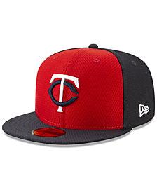 New Era Boys' Minnesota Twins Batting Practice 59FIFTY Cap