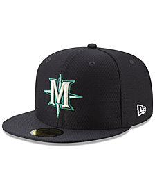New Era Boys' Seattle Mariners Batting Practice 59FIFTY Cap