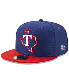 New Era Boys' Texas Rangers Batting Practice 59FIFTY Cap