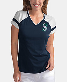 G-III Sports Women's Seattle Mariners Biggest Fan T-Shirt