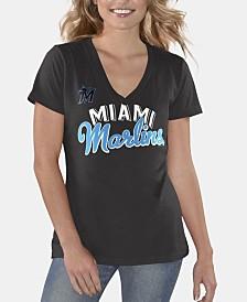 G-III Sports Women's Miami Marlins Finals T-Shirt
