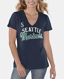 G-III Sports Women's Seattle Mariners Finals T-Shirt