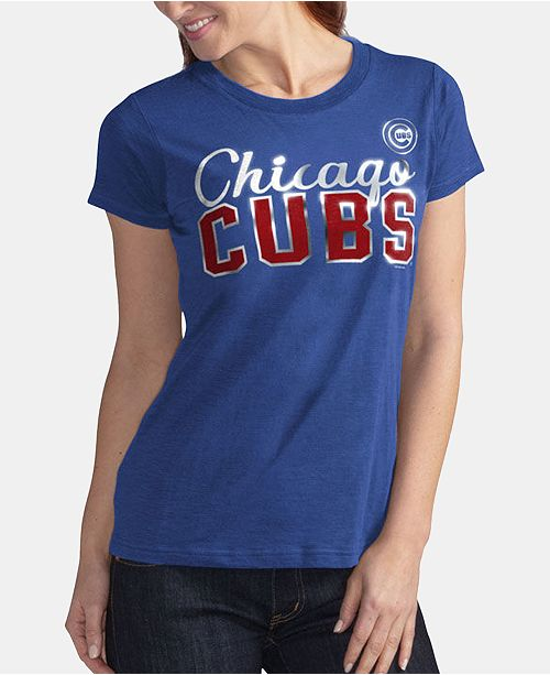 G-III Sports Women's Chicago Cubs Homeplate T-Shirt