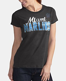 G-III Sports Women's Miami Marlins Homeplate T-Shirt