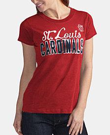 G-III Sports Women's St. Louis Cardinals Homeplate T-Shirt