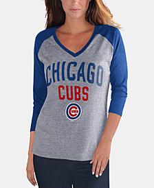 G-III Sports Women's Chicago Cubs It's a Game Raglan T-Shirt
