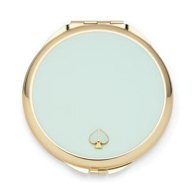Spade Street Gold Compact, Aqua