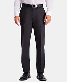 Haggar Men's Active Series Herringbone Slim-Fit Suit Separate Pants