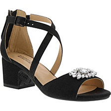 Badgley Mischka Little & Big Girls Pernia Gems Dress Sandal